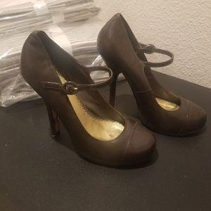 BEBE Leather Heels